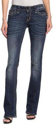 Rock Revival Breeda Mid Rise Bootcut Jeans