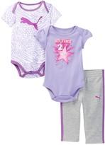 Puma Bodysuits & Pant Set (Baby Girls 0-9M)