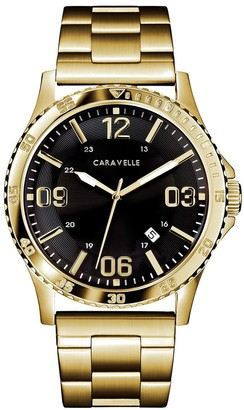 Caravelle by Bulova Men's Goldtone Watch w/ Date Window