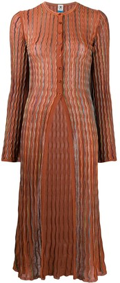 M Missoni Long Sheer Cardigan