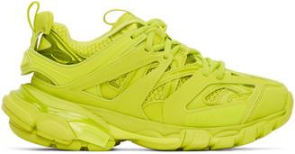 Balenciaga Green Track Sneakers