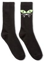 Halloween Women's Halloween Black Cat Crew Socks
