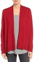 Eileen Fisher Merino Jersey Angle Cardigan (Regular & Petite)