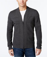 Alfani Men's Big and Tall Full-Zip Shawl Collar Cardigan Sweater