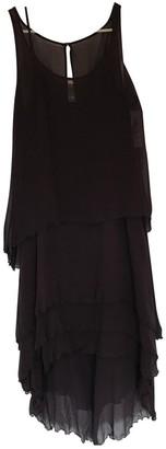 Karl Lagerfeld Paris Pour H&M Pour H&m Purple Silk Dress for Women