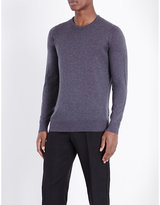 John Smedley Theon Cotton And Cashmere-blend Jumper