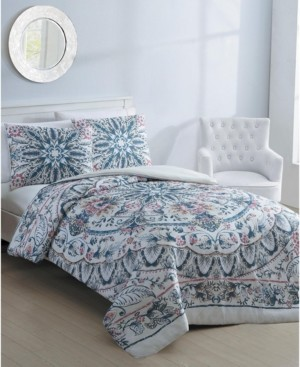 Vcny Home Via 2-Pc. Twin Xl Duvet Cover Set Bedding
