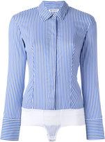 Dondup Race shirt - women - Cotton/Polyamide/Spandex/Elastane - 42