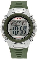 OMAX Boys DS165 Sports Digital Watch With Green Strap