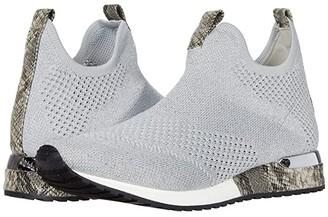 J/Slides Orion (Black Knit) Women's Shoes