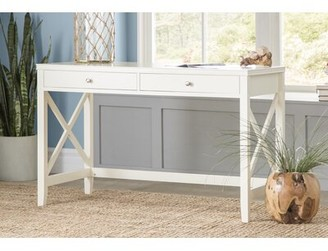 Beachcrest Home Thomaston Wood Desk Color: Antique White