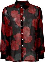 Enfants Riches Deprimes floral print shirt - men - Silk - M