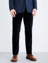Richard James Regular-fit cotton-velvet trousers