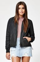 KENDALL + KYLIE Kendall & Kylie Tie Back Bomber Jacket