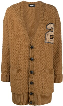 DSQUARED2 Varsity-Style Buttoned Cardigan