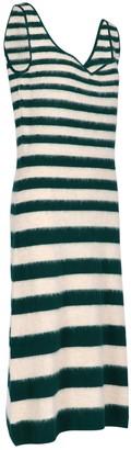 Marni Striped Midi Dress