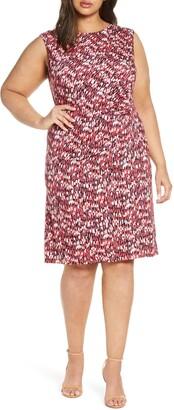 Nic+Zoe Bright Burst Twist Jersey Dress