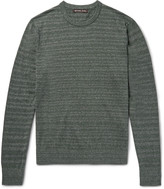 Michael Kors - Striped Mélange Cotton Sweater