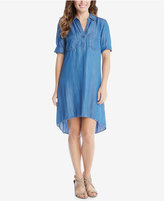 Karen Kane Denim High-Low Shirtdress