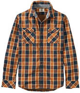 Timberland Men's Long Sleeve Double Layered Plaid