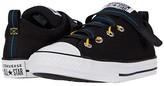 Converse Chuck Taylor(r) All Star(r) Z-Street (Little Kid/Big Kid) (Black/Coast/White) Boy's Shoes