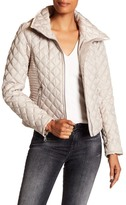 Andrew Marc Charlie Stowable Hood Quilted Jacket
