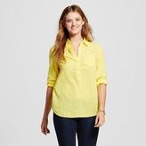 Merona Women's Favorite Shirt Yellow Bliss S