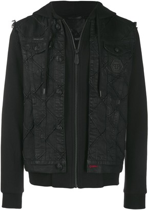 Philipp Plein Statement denim jacket
