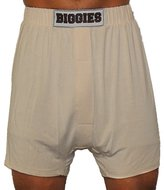 Biggies Boxers Underwear Men's Modal Jersey Short Leg (13X-Large, )