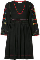 Ulla Johnson embroidered mini dress - women - Silk - 0