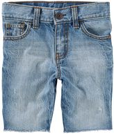 Osh Kosh Toddler Boy Sun-Faded Medium Wash Jean Shorts