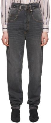 Etoile Isabel Marant Black Gloria Jeans