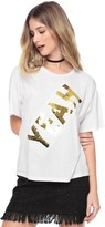 Juicy Couture Yeah Sequin Graphic Tee