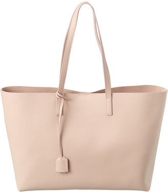 Saint Laurent E/W Leather Shopper Tote