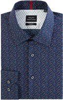 Simon Carter Men's Triangle Print Shirt