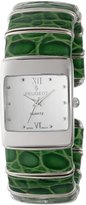 Peugeot Women's PQ2852-GR -Tone Green Cuff Watch