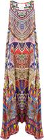 Camilla Dream Weavers-print silk crepe de Chine dress