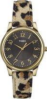 Timex Women's T2P0909J Analog Display Analog Quartz Yellow Watch