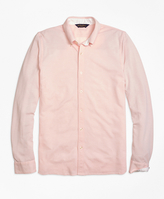 Brooks Brothers Oxford Knit Button-Down Shirt