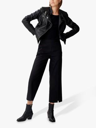 Gestuz Electra Leather Jacket, Black