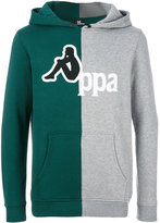 Kappa bicolour logo hoodie