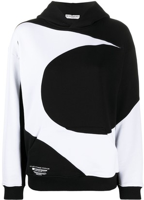 Givenchy Abstract-Print Hoodie