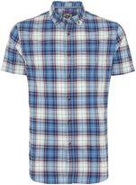 Criminal Oscar Check Short Sleeved Shirt