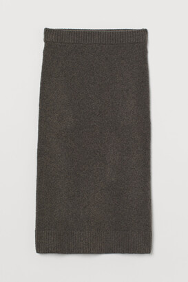 H&M Fine-knit pencil skirt
