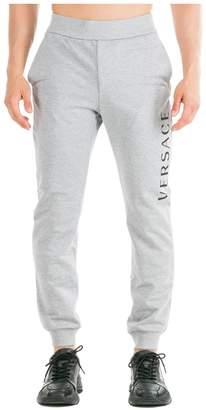 Versace Logo Tracksuit Bottoms