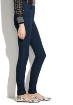 Madewell Skinny Skinny High Riser Jeans in Eclipse Wash