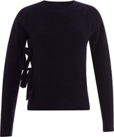 J.W.Anderson Bow-Detailed Wool Sweater