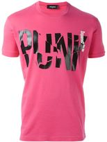 DSQUARED2 'Punk' print T-shirt