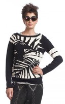 Tracy Reese Intarsia Boatneck