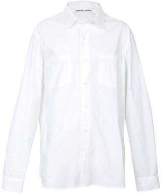 Buttoned Down Artica Arbox aa logo shirt